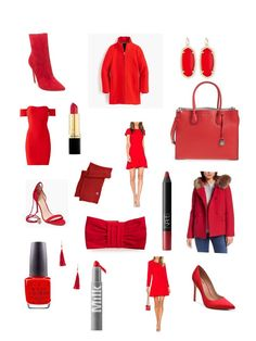 Red for holiday