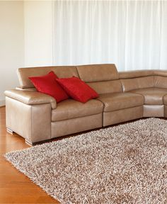 Image Result For Gavin Leather Sectional Living Room Furniture Collection