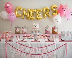 This adorable and Sweet Kitty Cat Birthday Party at Kara's Party Ideas is filled with paw-ty inspiration Birthday Name, Cat Birthday, First Birthday Parties, Birthday Party Themes, First Birthdays, Birthday Message, Mermaid Birthday, Birthday Images, Birthday Decorations
