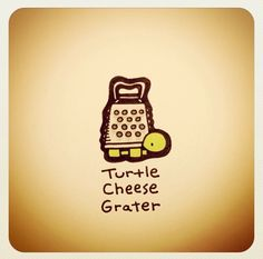 Turtle cheese grater