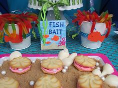 Food for Mermaid Party