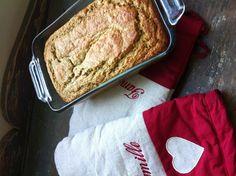 Gâteau aux zucchinis sans gluten, sucré au sirop d'érable
