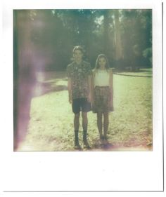 Handsom Spring 2013 Collection Polaroid