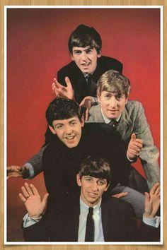 Inspiring Image George Harrison John Lennon Paul Mccartney Ringo Starr The Beatles
