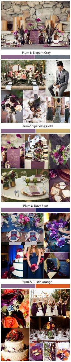 abdf8cdcfdd Top 5 Rustic Shades of Plum Wedding Ideas...plum so much elegant and