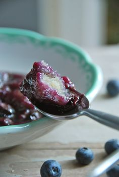 Blueberry Dumplings |