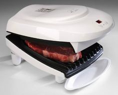 Wedding gift:George Foreman Indoor Grill with Timer - Extra Large Family Size GR26TMR
