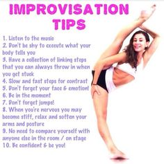Improv tips! #dance #dancer #dancers #trick