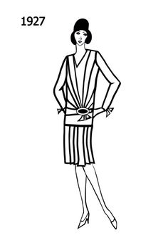 8 best 1920 s usa police images 1920s police badge Prohibition of Alcohol 1927 dress dress sketches edwardian era line drawing silhouette fashion history