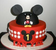 Mickey Cake Ian | Flickr - Photo Sharing!