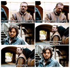 The Musketeers - 2x07 - A Marriage of Inconvenience Captain Treville & Athos