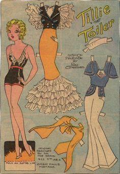 tillie the toiler!
