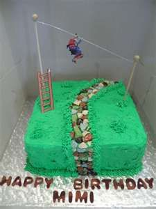 Zipline cake I could manage this