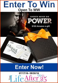 Enter To Win @YourLifeAfter25's #Power Tv $100 Amazon eGift Card #Giveaway!