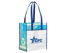 #CFC Vita Laminated Recycled Shopper. www.theCFCstore.com