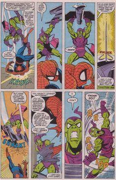 50 Greatest Spider-Man Creators: Artists - Comics Should Be Good! @ Comic Book ResourcesComics Should Be Good! Hq Marvel, Marvel Comics, Green Goblin Harry Osborn, Spiderman Drawing, Sal Buscema, Dark Drawings, Comic Panels, Marvel Wallpaper, Spider Verse
