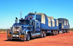 Photo by ROGER EVANS | wob2007 | Flickr Kenworth Trucks, Mack Trucks, Big Rig Trucks, New Trucks, Custom Trucks, Cool Trucks, Train Truck, Road Train, Heavy Duty Trucks