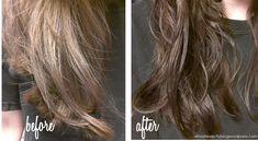 Naturally darken hair