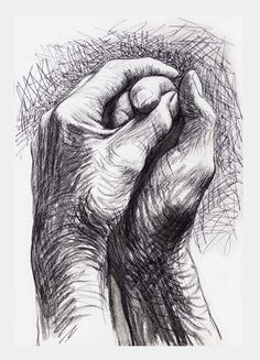 Cave to Canvas, alecshao: Henry Moore - The Artist's Hands, 1974
