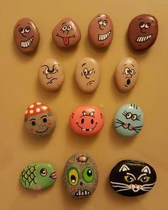 #magnet  #magnets #faces #cat #zombie #lechat #sevimlihayvanlar #sus #dekorasyon #miknatisli  #paint #tasboyama #tasboyamasanati #tastasarim #paint #renkler #couleurs #elemegi #elyapimi #stones #stoneart #stonepainting #akrilikboya #handmade #hobi #hediye #gift #sanat #satılık #siparisalinir