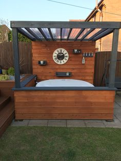 Hot tub shelter Hot tub shelter Hot tub shelter Hot tub shelter Though historical throughout idea, the particular pergola have been experiencing a modern-day rebirth all these days. A classy backyard shelter without any walls.