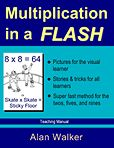 Multiplication in a Flash: Teaching Manual by Alan Walker Learning Multiplication Facts, Math Quizzes, Math Facts, Math Resources, Teaching Math, Maths, Teaching Ideas, Learning Websites, Educational Websites