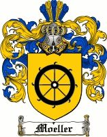 Moeller Coat of Arms / Moeller Family Crest www.4crests.com #coatofarms #familycrest #familycrests #coatsofarms #heraldry #family #genealogy #familyreunion #names #history #medieval #codeofarms #familyshield #shield #crest #clan #badge #geneology #tattoo
