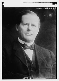 Jessie Root Grant, son of Ulysses S and Julia Dent Grant, developed Tijuana, Mexico as a gambling resort