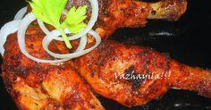 Recipe for Kerala Style Fried Chicken Ingredients:- Chicken drumsticks - 3( you can use any piece you want) Kashmiri Red chilli powd...