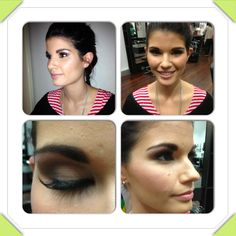 Maddy my bridal makeup model