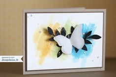 Butterflies and Watercolor
