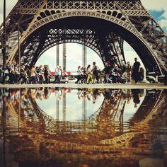 #paris (Pris avec Instagram à Tour Eiffel)
