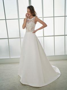 FLAUTA A-line wedding dress
