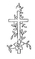 Image8  ~ Cross with flower