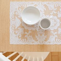 FLORAL EMBROIDERED PLACEMAT (SET OF 2) - Placemats - Tableware | Zara Home Brazil