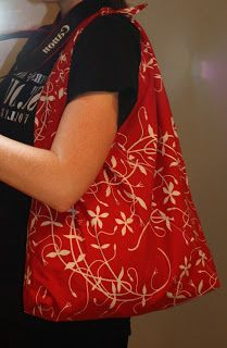 Make a Large Shopping Tote from a Pillowcase