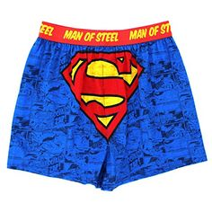 DC Comics Mens Cotton Boxer Shorts (S (28/30), Blue Superman Man of Steel) DC Comics http://www.amazon.com/dp/B00WRNJAHM/ref=cm_sw_r_pi_dp_aupvvb0Q54YB9