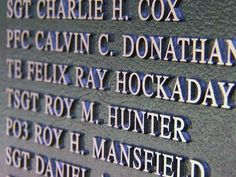 The people of Broadway raised about $700,000 to build the North Carolina Veterans Memorial.