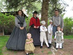 Pioneer Trek, Pioneer Day, Historical Costume, Historical Clothing, Farm Costumes, Pioneer Costume, Victorian Children's Clothing, Pioneer Clothing, Outdoor Outfit