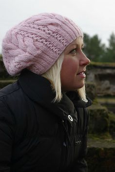 I so need to knit this hat, but I have to many already.  Anyone need a hat?