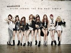 """After School (애프터스쿨) releases MV + The 6th Maxi Single Album """"First Love"""""""