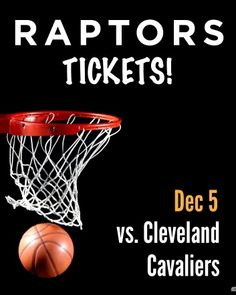 $89 and Up for a Ticket to the Toronto Raptors vs. LeBron James & Cleveland Cavaliers on December 5th at the ACC Lebron James Cleveland, Toronto Raptors, Best Deals Online, Cavalier, Ticket, December, Sports, Sport, Knight