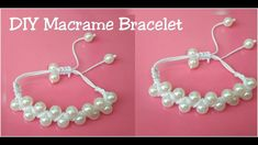 Diy Macrame Friendship Bracelet /how to make macrame bracelet making
