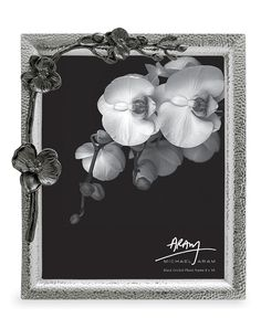 """Michael Aram Picture Frame, Black Orchid 8"""" x 10"""" - Picture Frames - for the home - Macy's"""