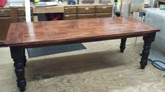 Table Legs the Perfect Fit for Farmhouse Style Table - Osborne Wood Videos