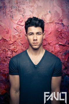 Nick Jonas for Fault magazine