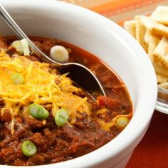 Copycat Wendy's Chili in the Crockpot! Recipe on Yummly. @yummly #recipe