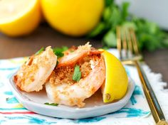 With just 5 ingredients and no prep work, this Dump and Bake Crispy Garlic Butter Shrimp is a healthy dinner that's ready in 15 minutes! Yes, weeknight dreams DO come true!