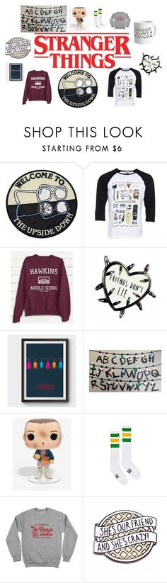 """stranger things"" by juliacerisano ❤ liked on Polyvore featuring Humör"
