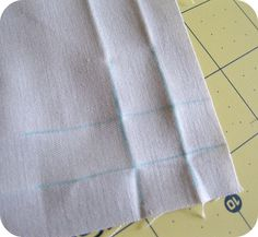 How to sew a mitred corner without a trim - Country living downunder